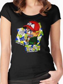 Pancake Boy Women's Fitted Scoop T-Shirt