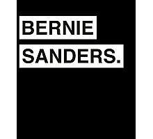 Bernie Sanders Classic Design Photographic Print