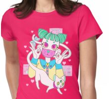 MEOW MEOW Womens Fitted T-Shirt