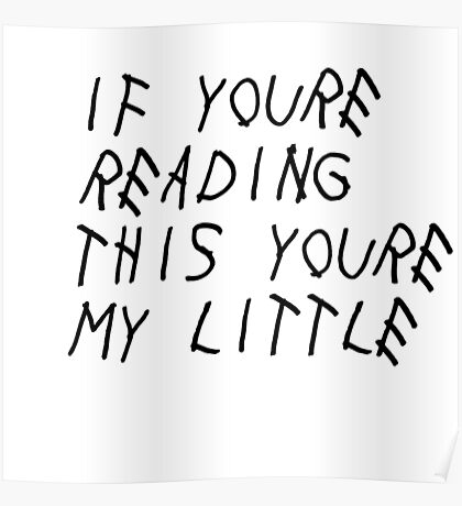 If You're Reading This (Little) Poster
