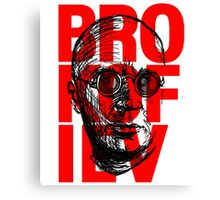 Brokofiev in Red Canvas Print