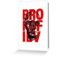 Brokofiev in Red Greeting Card