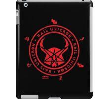 All Hail Unicron - Unigram (Red) iPad Case/Skin