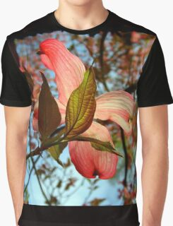 Backlit Dogwood Graphic T-Shirt