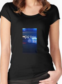 City Living Women's Fitted Scoop T-Shirt