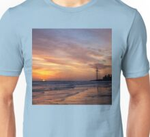 North Sea sunrise Unisex T-Shirt