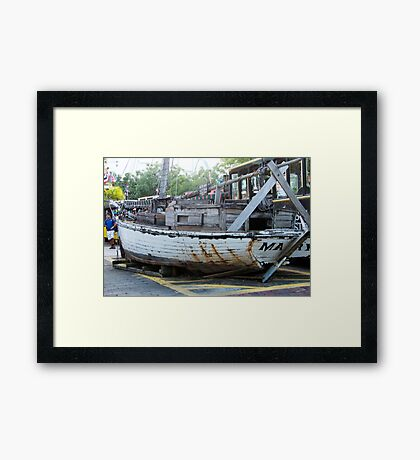 Anchors Aweigh! Framed Print