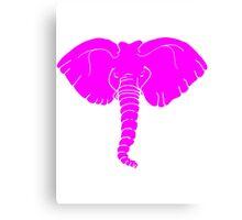 ELEPHANT PINK Canvas Print