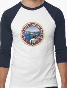 Crater Lake National Park Men's Baseball ¾ T-Shirt