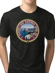 Crater Lake National Park Tri-blend T-Shirt