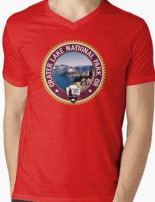 Crater Lake National Park Mens V-Neck T-Shirt