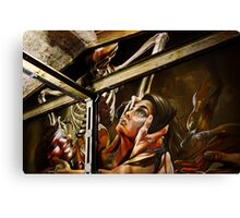 Devil inside Canvas Print