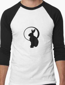 Hare & Moon Men's Baseball ¾ T-Shirt