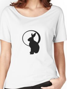 Hare & Moon Women's Relaxed Fit T-Shirt