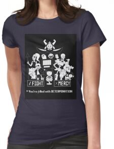 Undertale Merchandise Womens Fitted T-Shirt