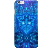 Deep Ice Blue - Sub Zero Transformers Wolf Mask Portait  iPhone Case/Skin