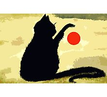 THE RED BALL Photographic Print