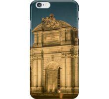 Puerta de Alcala Night iPhone Case/Skin