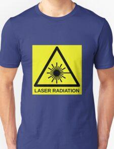 Laser Radiation Symbol  Unisex T-Shirt