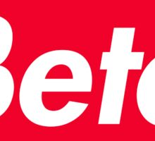 Beta Box Logo Sticker