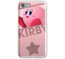 Super Smash Bros.: Kirby iPhone Case/Skin
