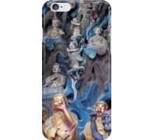 Chinese Buddist temple statues iPhone Case/Skin