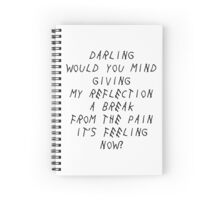 Consideration / Rihanna Spiral Notebook