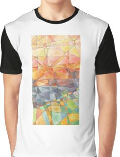 Stained glass. Graphic T-Shirt