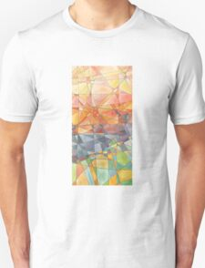 Stained glass. Unisex T-Shirt