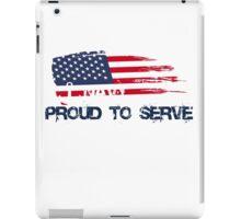 US Navy Proud To Serve iPad Case/Skin