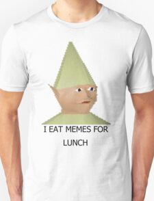 I eat memes for lunch Unisex T-Shirt