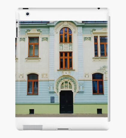 Czech Buildings iPad Case/Skin