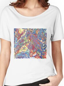 New Orleans the Beautiful Blues Women's Relaxed Fit T-Shirt