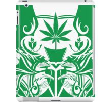 Cannabis Illustration in the Art Nouveau Style iPad Case/Skin
