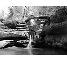 Stone Bridge over the Falls Photographic Print