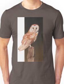Barn owl. Unisex T-Shirt