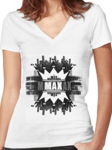 One King One crown Women's Fitted V-Neck T-Shirt