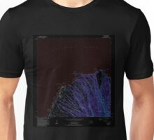 USGS TOPO Map Hawaii HI Napili 349622 1983 24000 Inverted Unisex T-Shirt