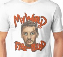 Mad Max Fire and Blood Unisex T-Shirt