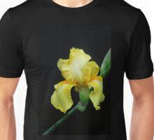 Yellow Iris on a Slant Unisex T-Shirt