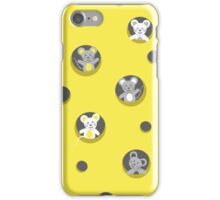 Cheese and mice iPhone Case/Skin
