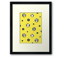 Cheese and mice Framed Print