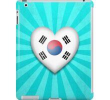 South Korean Heart Flag iPad Case/Skin