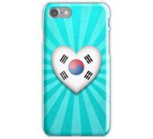 South Korean Heart Flag iPhone Case/Skin
