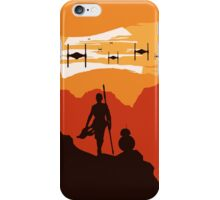 Star Wars VII - BB8 & Rey 2 iPhone Case/Skin