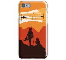 Star Wars VII - BB8 & Rey 2 iPhone Case/Skin