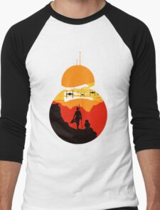 Star Wars VII - BB8 & Rey 2 Men's Baseball ¾ T-Shirt