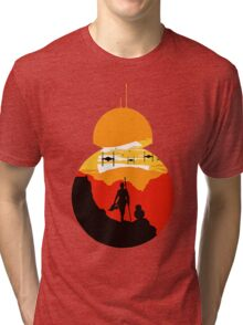 Star Wars VII - BB8 & Rey 2 Tri-blend T-Shirt