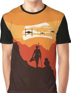 Star Wars VII - BB8 & Rey 2 Graphic T-Shirt