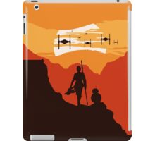 Star Wars VII - BB8 & Rey 2 iPad Case/Skin